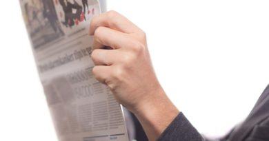 Διάβασμα εφημερίδας