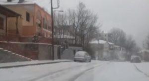 Ανοιξιάτικο χιόνι στην Περιφερειακή Ενότητα Φλώρινας (ΒΙΝΤΕΟ)