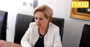 Ανακοίνωση υποψηφιότητας της καθηγήτριας Σοφίας Ηλιάδου-Τάχου με τη Νέα Δημοκρατία (ΒΙΝΤΕΟ + Πρόγραμμα επισκέψεων)