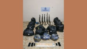 Σύλληψη από αστυνομικούς της Διεύθυνσης Αστυνομίας Φλώρινας μελών εγκληματικής οργάνωσης για διακίνηση μεγάλης ποσότητας όπλων και κάνναβης (ΦΩΤΟ)