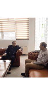 Συνάντηση του βουλευτή Φλώρινας ΝΔ Γιάννη Αντωνιάδη με τον Πρύτανη του Πανεπιστημίου Δυτ. Μακεδονίας