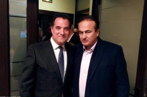 Συνάντηση του βουλευτή Γιάννη Αντωνιάδη με τον Υπουργό Ανάπτυξης Άδωνι Γεωργιάδη