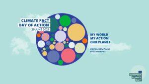 Ημέρα Δράσης για το Ευρωπαϊκό Σύμφωνο για το Κλίμα η 29η Ιουνίου, με τη συμμετοχή όλων των Ευρωπαίων πολιτών