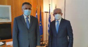 Συνάντηση του Περιφερειάρχη Δυτ. Μακεδονίας Γ. Κασαπίδη με τον Πρόεδρο του ΕΛΓΑ
