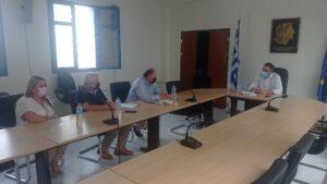 Συνάντηση Περιφερειάρχη Δυτ. Μακεδονίας με τον Διοικητή του Μποδοσάκειου Γενικού Νοσοκομείου Πτολεμαΐδας
