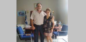 Ευχαριστήριο του Επιμελητήριου Φλώρινας προς την κα. Στέλλα Ραντζάκη